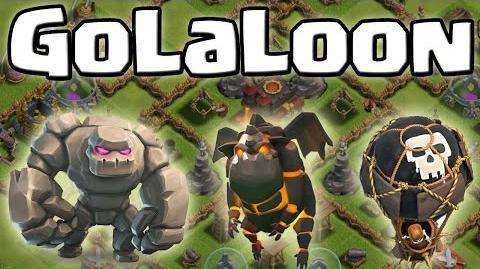 GoLaLoon - Angriffsstrategie Clash of Clans Deutsch German HD