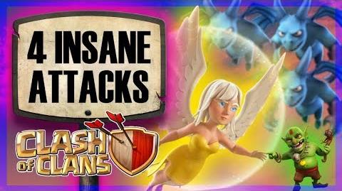 INSANE HITS 10v10 mass minion included (+ funny surprise in the middle!) Clash of Clans