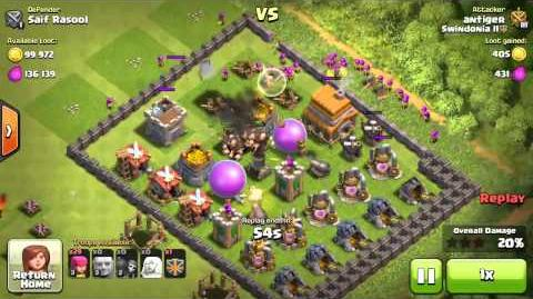 attack in clash of clans