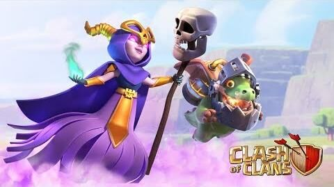Welcome the Super Witch and Inferno Dragon! (Clash of Clans Summer Update)