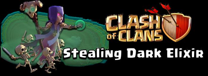 Stealing Dark Elixir