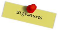 BulletinSignature