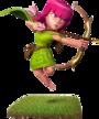 Bogenschütze (kleine Version)