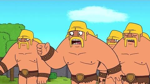 Clash-A-Rama! The Series Ballad of the Barbarian