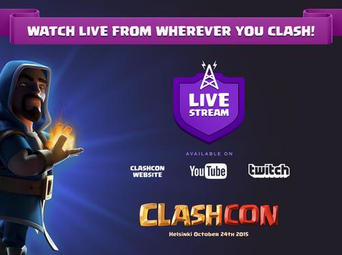 ClashCon Livestream