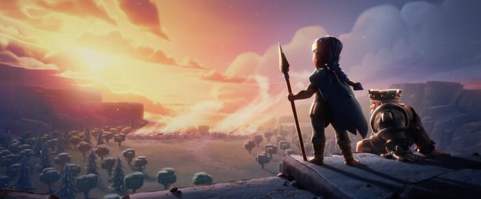 Königliche Gladiatorin Barbarenkönig