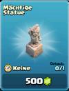 Mächtige Statue