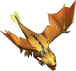 Golden Giant Dragon