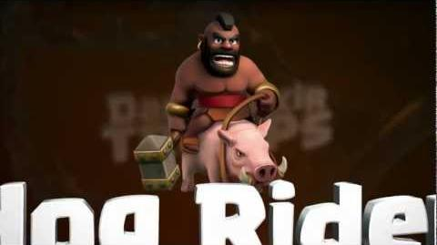 Clash of Clans The Hog Rider