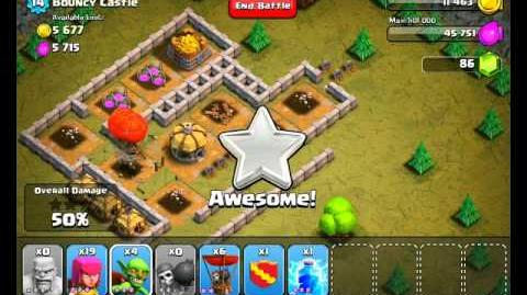 Clash of Clans Level 20 - Bouncy Castle