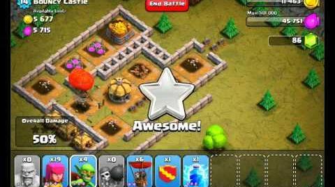 Clash of Clans Level 20 - Bouncy Castle