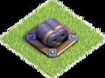 Double canon (base des ouvriers) niv4