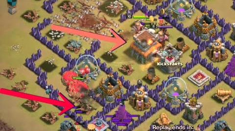 TH8 Earthquake GoVaLo - Clash of Clans War Attack Strategy