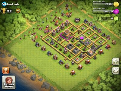 My leaders awsome base