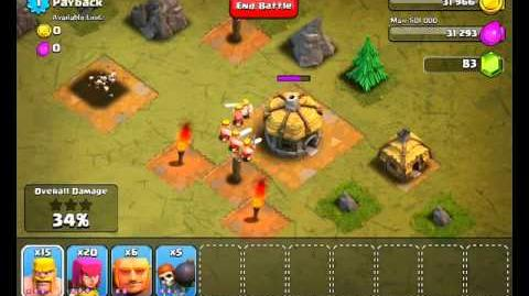 Clash of Clans Level 1 - Payback