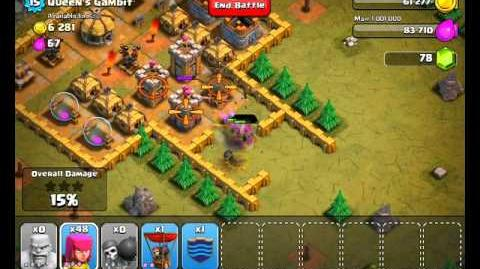 Clash of Clans Level 32 - Queen's Gambit