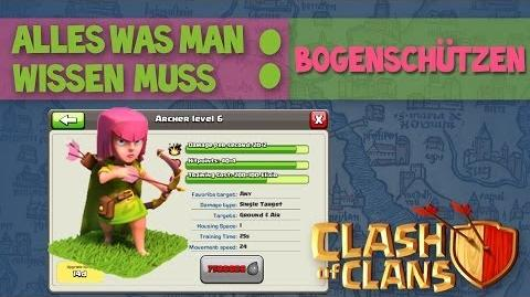 Clash of Clans ABC I Truppen Bogenschützen