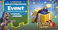 Geburtstagsdonner-Event