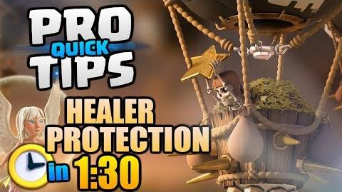 """PRO Quick TIPS in """"Clash of Clans"""" - Healer Protection and Troop Efficiency in 1 30 2018"""