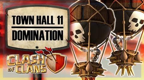 Town Hall 11 DOMINATION Watch these Queen Walks - OH MY! Clash of Clans