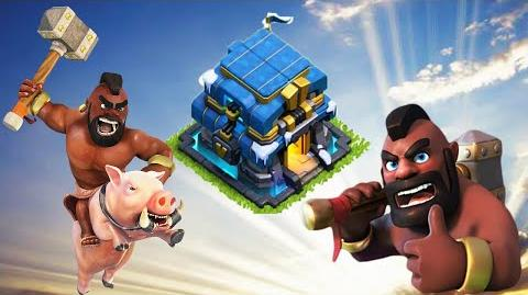 Video - Clash of Clans Hog Rider Attack 💥 TH12 3 Star