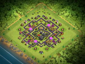 clash of clans base layout