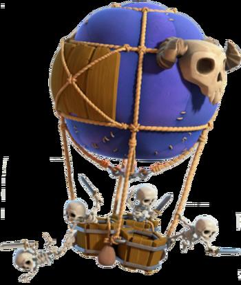 Skelettballon