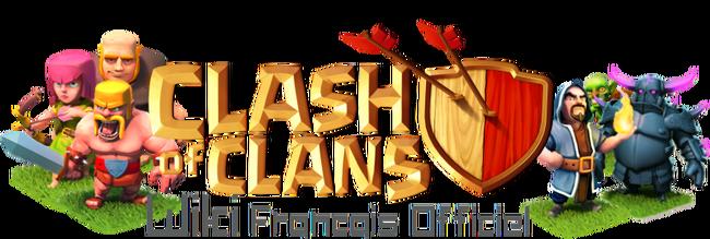Logo clash of clans fr