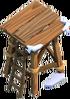 Bogenschützenturm 1 Winter