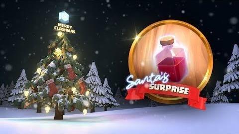 Clash of Clans Santa's Surprise Spell (Clashmas Update 2017)