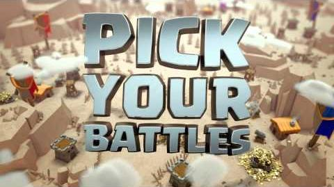 Pick Your Battles Clan Wars has Arrived