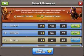 CWL Info Rewards