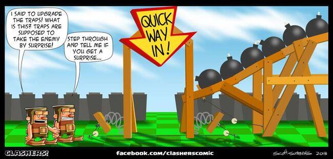 Clashers Comic 35