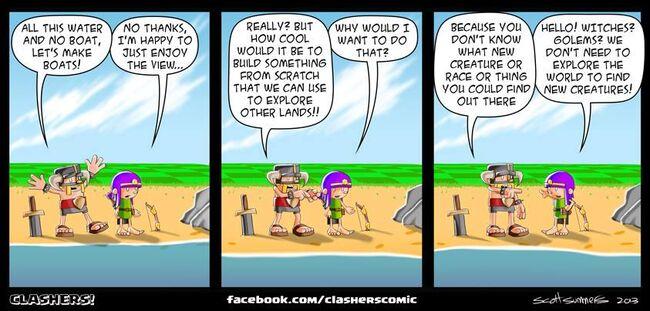 Clashers Comic 18