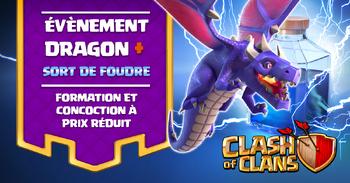 ÉVÉNEMENT DRAGON SORT DE FOUDRE