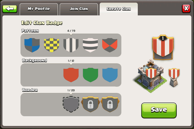 Clan Badges