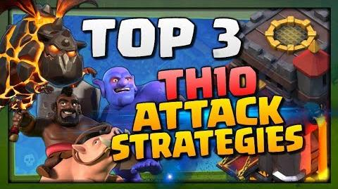 TOP 3 TH10 ATTACK STRATEGIES for 3 STARS in Clash of Clans! Amazing Town Hall 10 Attacks for 2018!