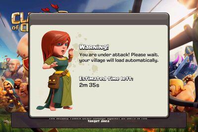 Attack warning