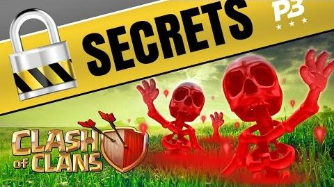 Clash of Clans SECRETS of the NEW SKELETON SPELL