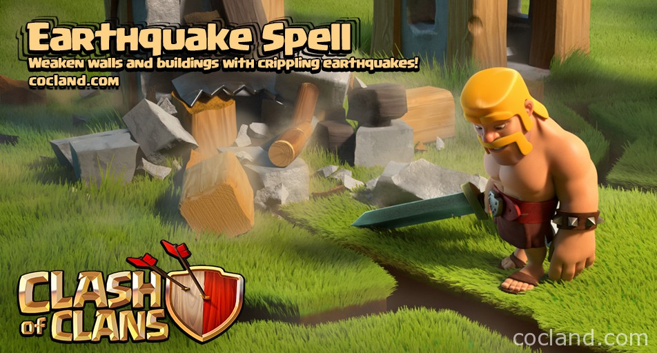 Image earthquake spell cocg clash of clans wiki fandom earthquake spell cocg stopboris Images