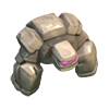 Clash of clans level 1 and 2 golem