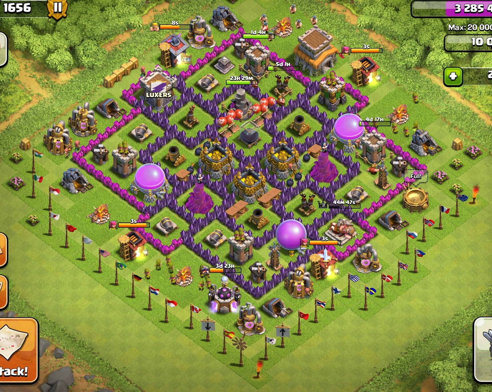 how to start a new clash of clans account ios