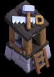 Meisterbauarbeiter-Hütte