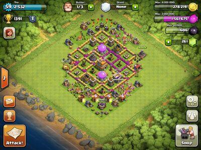 Base Coc Th 8 Triple X 2