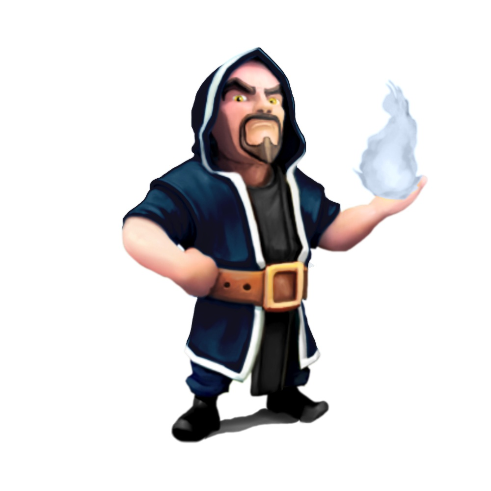Image - Wizard lvl5.jpg | Clash of Clans Wiki | FANDOM powered by ...