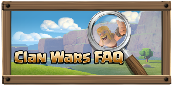 Clan Wars FAQ Banner