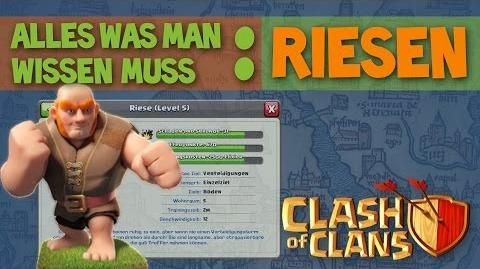 Clash of Clans ABC I Truppen Riesen