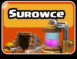 Surowce