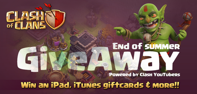 Clash of Clans Giveaway 1