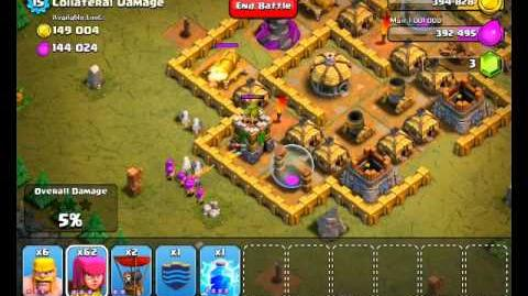 Clash of Clans Level 40 - Collateral Damage